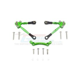 GPM Racing Products GT049F-G Green Aluminum Front Tie Rod Set for Traxxas 4TEC 2.0