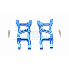 GPM Racing Products GT056-B Blue Aluminum Rear Susupension Arms Traxxas 4TEC 2.0