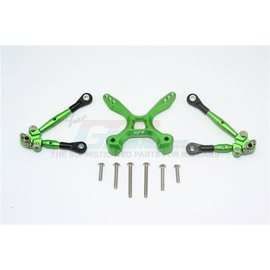 GPM Racing Products GT049RA-G Green Aluminum Rear Tie Rod Set Traxxas 4TEC 2.0