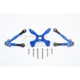 GPM Racing Products GT049RA-B Blue Aluminum Rear Tie Rod Set Traxxas 4TEC 2.0