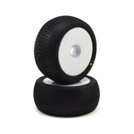 Proline Racing PRO9060-033 ElectroShot VTR Pre-Mounted 1/8 Truck Tires (2) (White) (X3)