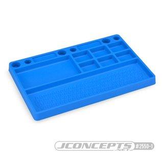J Concepts JCO25501  Rubber Parts Tray-Blue