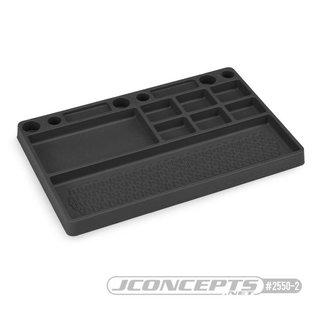 J Concepts JCO2550-2  Rubber Parts Tray Black