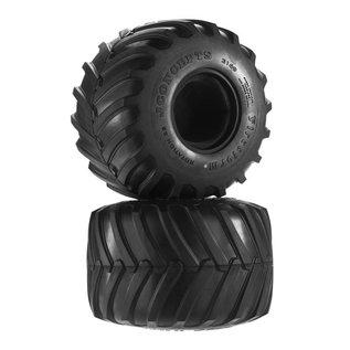 "J Concepts JCO3169-05 2.6"" Firestorm Monster Truck Tires (2) (Gold)"