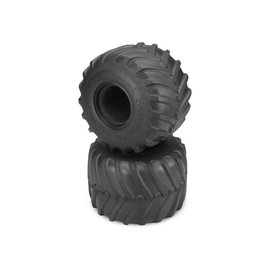 "J Concepts JCO3169-01 Blue Firestorm Monster Truck Tire (fits 2.6"" x 4.0"" MT wheel, Clod Buster)"