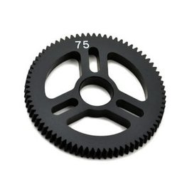 Exotek Racing EXO1545 Flite Spur Gear 48P 75T, Machined Delrin for EXO Spur Gear Hubs