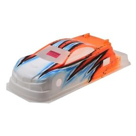 Bittydesign BDY-190M410WAVO  Bittydesign (Wave/Orange) M410 1/10th Pre-Painted 190mm TC Body
