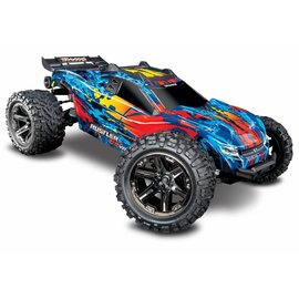 Traxxas TRA67076-4-RED 4X4 VXL Brushless RTR 1/10 4WD Stadium Truck