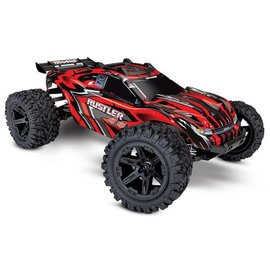 Traxxas TRA67064-1-RED Rustler 4X4: 1/10-scale 4WD Stadium Truck w/ Battery & Charger