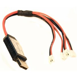 Racers Edge RCE1691  USB Multi Charger 1S Lipo Batteries, Hubsan Connector