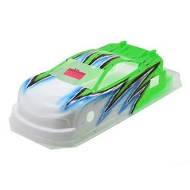 Bittydesign BDY-190JP8WAVG JP8 Pre-Painted 1/10 Touring Car Body (190mm) (Wave/Green)