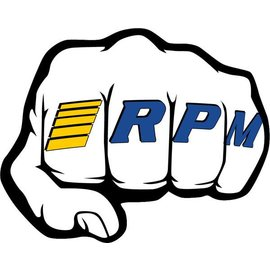 """RPM R/C Products RPM70020  RPM """"Fist"""" Logo Decal Sheets"""