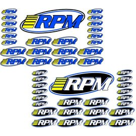 RPM R/C Products RPM70005  RPM PRO LOGO DECAL SHEETS