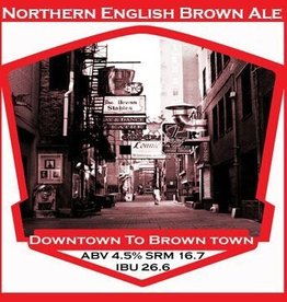 Beer Downtown to Brown Town - PBS Kit