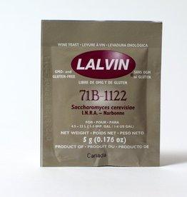Wine Lalvin 71B-1122 Wine Yeast- 5g