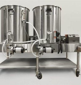 Beer Horizontal Brew System - Electric Turnkey - 20gal BrewEasy