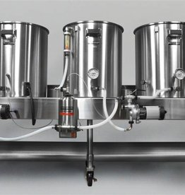 Beer Horizontal Brew System - Electric Turnkey - 15gal Batch Size