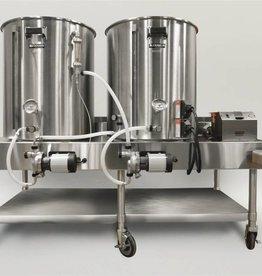 Horizontal Brew System - Electric Turnkey - 1BBL BrewEasy