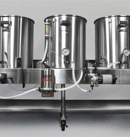 Horizontal Brew System - Electric Turnkey - 15gal Batch Size