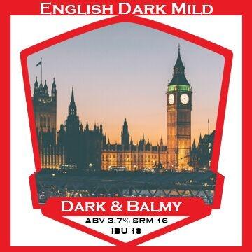 Dark and Balmy English Mild- PBS Kit