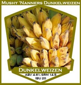 Mushy 'Nanners Dunkelweizen- PBS Kit
