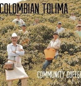 Coffee Colombian Tolima Community Whole Bean Coffee 1 Lb