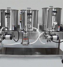 Horizontal Brew System - Electric Turnkey - 10gal Batch Size