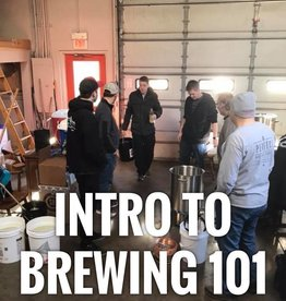 Intro to Brewing 8/18/2018