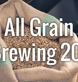 Intro to All Grain Brewing  10/27/18