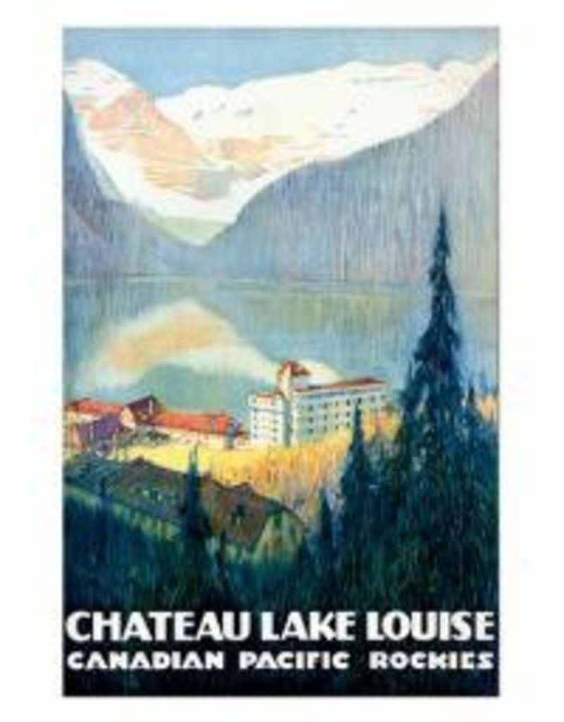 Eurographics Vintage - Canadian Pacific - Lake Louise
