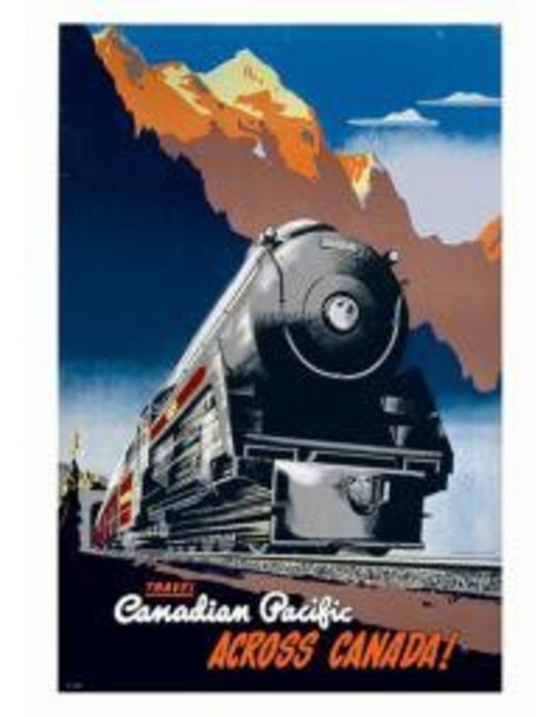 Vintage - Canadian Pacific Train 1930