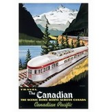 Eurographics Vintage - Canadian Pacific Train 1955