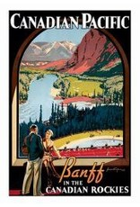 Eurographics Vintage - Canadian Pacific - Banff In The Canadian Rockies