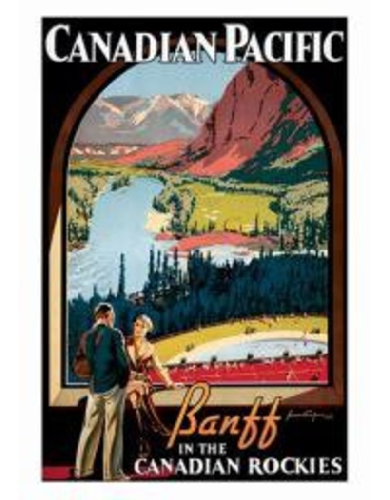 Vintage - Canadian Pacific - Banff In The Canadian Rockies