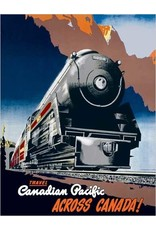 Eurographics Canadian Pacific across Canada, 1930 Greeting Card
