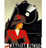 Eurographics Travel Canadian Pacific Greeting Card