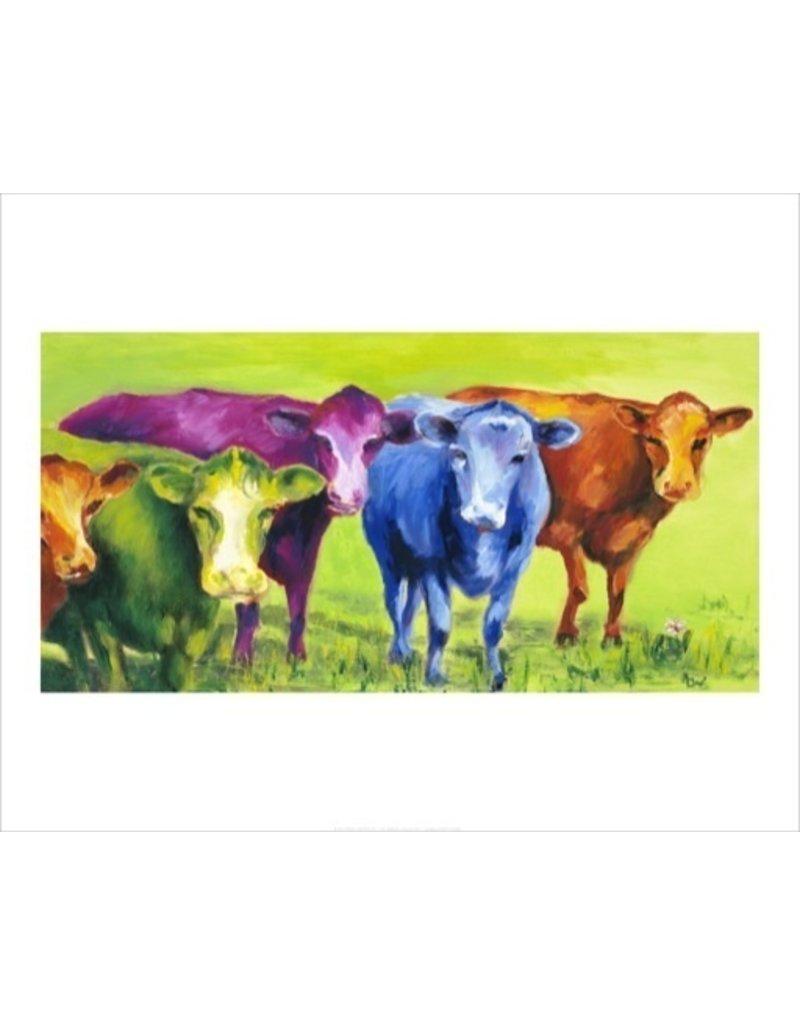 Ann Waeland   Coloured Cows