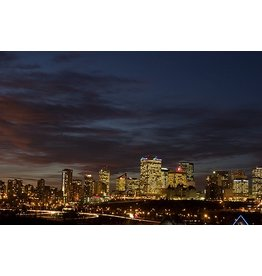 Vivid Print Michael Holly | Edmonton Nights