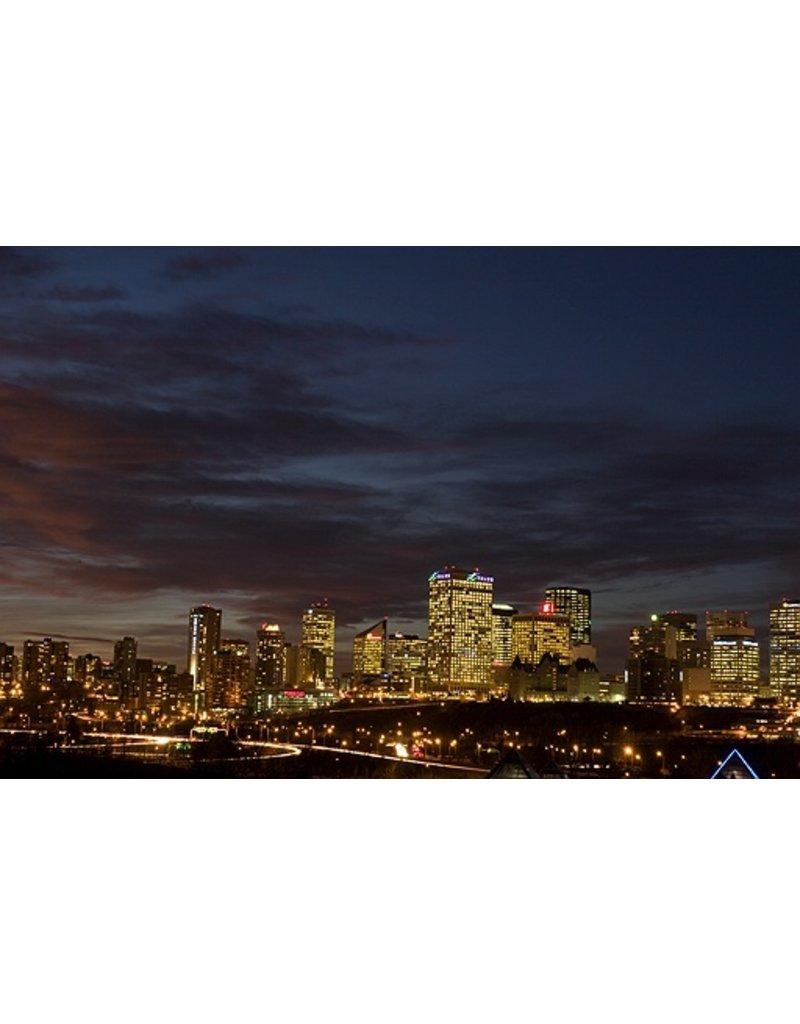 Vivid Print Michael Holly | Edmonton Nights