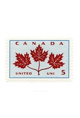 Canada Maple Leaves Stamp