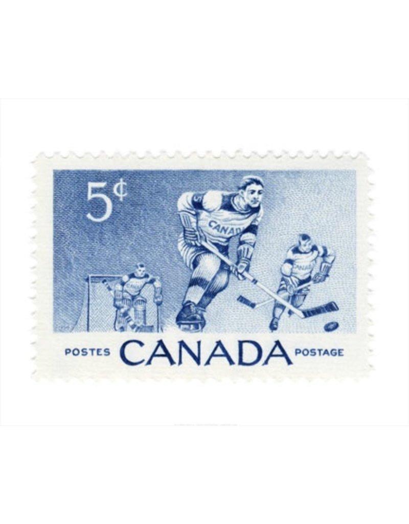 Vivid Print Canada Hockey Stamp