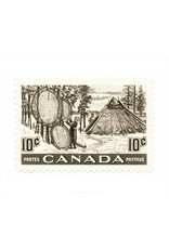 Canada Fur Resources Stamp