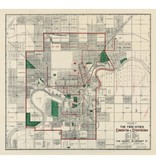Vivid Archives Twin Cities Map 1911