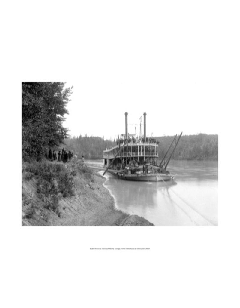 Vivid Archives HBC Steamer North West at Edmonton - 1896