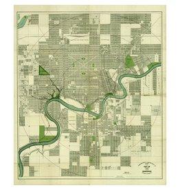 Driscoll & Knight Edmonton Map 1912