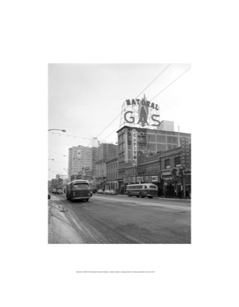 Vivid Archives Jasper Avenue 1952