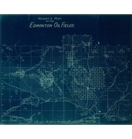 Mundy's Map of Edmonton Oil Fields