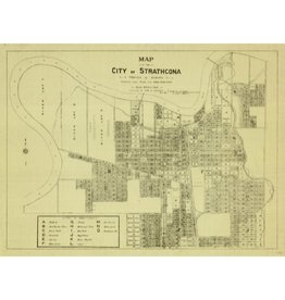 City of Strathcona Map 1907
