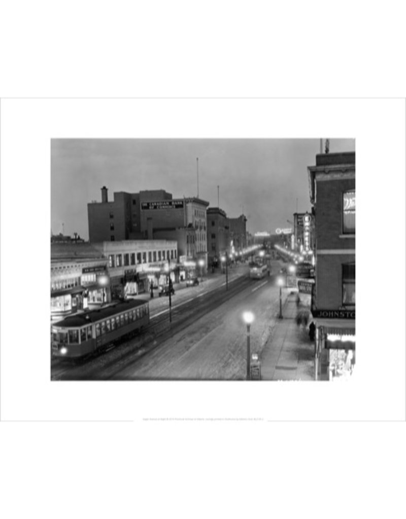 Vivid Archives Night View of Jasper Avenue