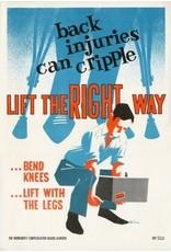 Vivid Print Lift The Right Way Poster